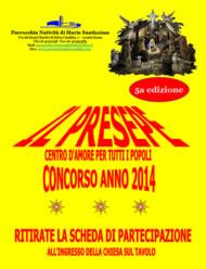 CONCORSO PRESEPI 5A EDIZIONE