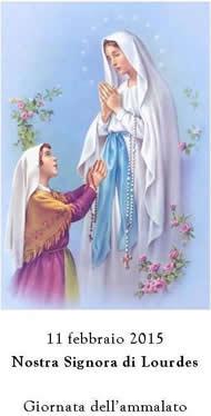 Invito festa di Lourdes