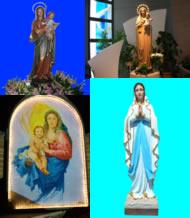 Madonnine della parrocchia