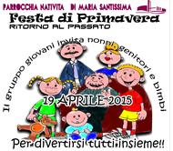 Festa di primavera - festa oratorio 19 aprile 2015
