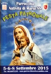 Festa Natività di Maria Santissima 2015