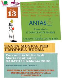 Casalottilibera - Serata musicale di beneficenza