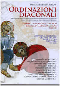 Ordinazioni Diaconali