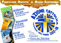 Azione Cattolica - Cammino dell'anno 2017/18