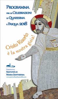 Programma Celebrazioni Pasqua 2018