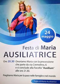 Festa Maria Ausiliatrice