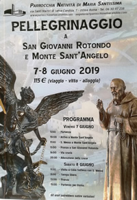 Pellegrinaggio Padre Pio