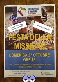 Festa della Missione 27 ottobre 2019